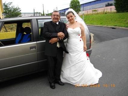 Robe de mariée d'occasion grande taille ajustable