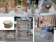 Décoration de table et salle champêtre - Occasion du Mariage