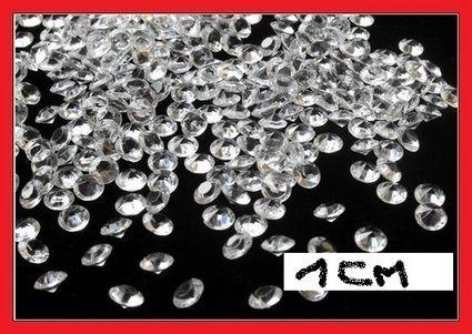 Diamants décoration table mariage pas cher - Occasion du mariage