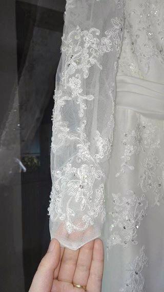 Robe de mariée de chez Point Mariage - Isère