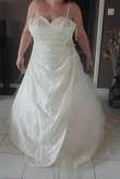 robe de mariée diasmine ivoire - Occasion du Mariage
