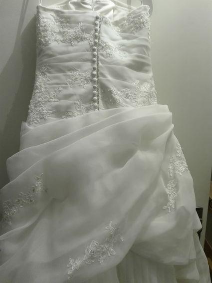 Robe marabu pronovias d'occasion - Puy de Dôme