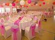 boules japonaises chinoises papier orange blanc rose  - Occasion du Mariage