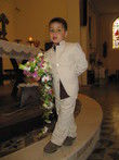 Costume garçon 4 ans - Ecru chocolat Petits\'Mecs - Occasion du Mariage