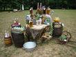 Toile de Jute pour limonade bar - Occasion du Mariage