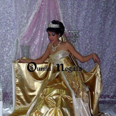 Negafa soumia du palais des caftans - Robe de mariée orientale