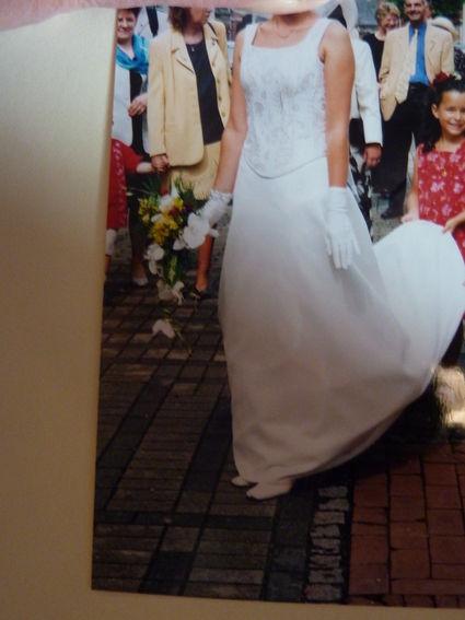 Robe Jupe de mariée, bustier type corse et accessoires