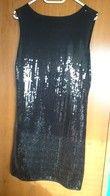 robe noire sequins brillante neuve  - Occasion du Mariage