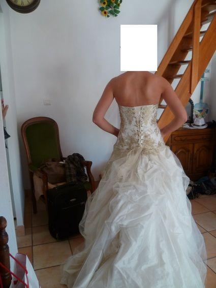 Robe de mariée pas cher Naïs marque Les Mariées de Provence 2012 ...