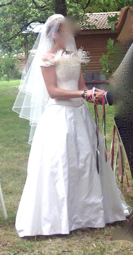 Robe de mariée Max Chaoul d'occasion