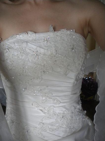 Robe de mariée grande taille Loanne Collection type Kaline
