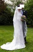 Robe de Mariée d'excellent qualité en dentelles d'occasion