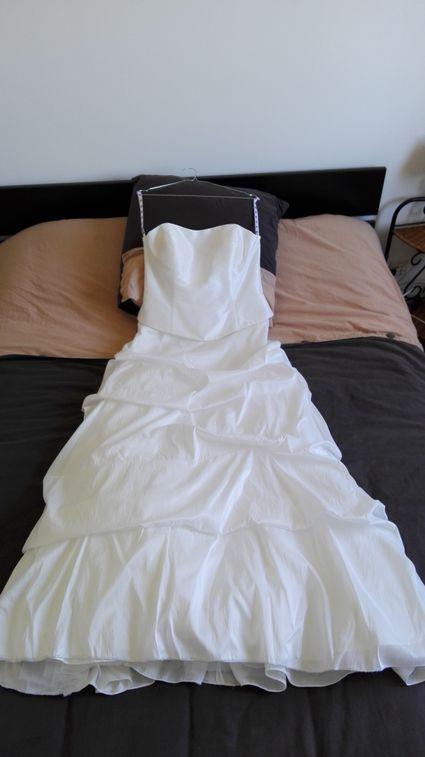 Robe de mariée simple d'occasion taille 44 - Vienne (Haute)