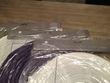 Lanternes en papier diam 35 cm violet et blanc - Occasion du Mariage