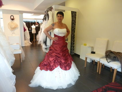 Robe de mariée Chabada de la maison les Mariés de l'Atlantique