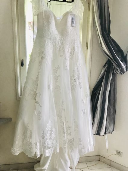 Robe mariée grande taille Neuve - Paris