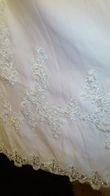 Robe de mariée de style impériale toute brodée T42 d'occasion