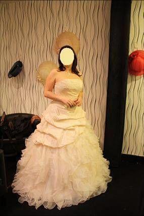 Robe de mariée neuve 2 pièces Divina sposa avec jupon et bustier