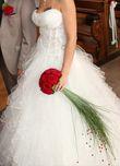 Robe ivoire  - Occasion du Mariage