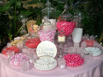 Location d'un candy bar pour votre mariage