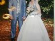 robe de mariée stylée modèle Fidèle - Occasion du Mariage