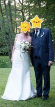 Robe de mariée bustier - Côte d'or