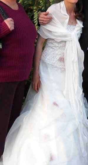 Robe de mariée et  bustier d'occasion