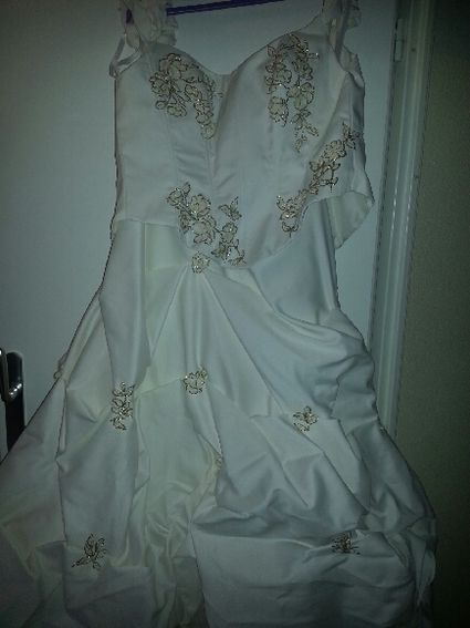 Robe de mariée d'occasion taille 46
