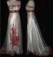 Très belle robe brodé et perlé pas cher d'occasion 2012 - Languedoc Roussillon - Hérault - Occasion du Mariage