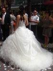 Robe de mariée diamant pas cher à Nice 2012 - Occasion du mariage