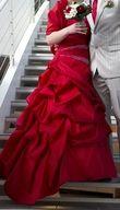 Robe de mariée Rouge Miss Paris - Occasion du Mariage