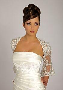 Robe de mariée Lisa Donetti avec un très beau boléro d'occasion