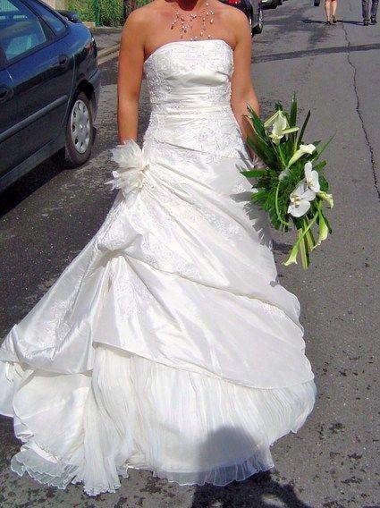 Robe de mariée Aphélie de Lise Saint Germain pas cher d'occasion 2012 - Champagne Ardenne - Ardennes - Occasion du Mariage