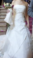 Robe de mariée et étole - Occasion du Mariage