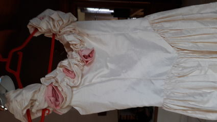 Robe de mariée en soie T.38 - Vendée