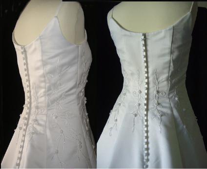 Robe de mariée pas cher 1 pièce avec traine d'occasion 2012 - Languedoc Roussillon - Hérault - Occasion du mariage