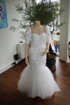 Robe de mariée d'occasion PRONUPTIA en satin et pas cher 2012 - Occasion du mariage