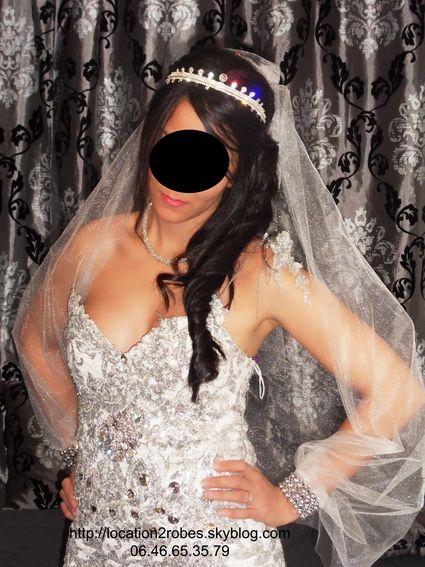 Robe sirène pour mariée et location de robes de mariage