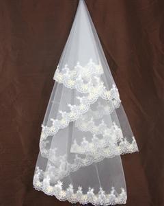 Voile de mariée brodé et pas cher - DOM/TOM - Réunion - Occasion du mariage