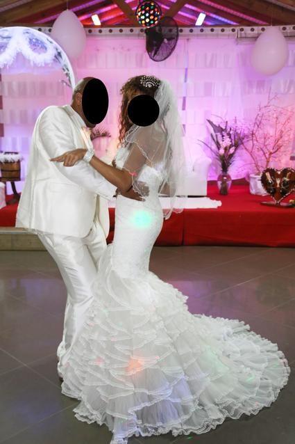 Robe de mariee de luxe Pronovias modèle Palema d'occasion