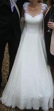 Robe mariée soie et dentelle - Occasion du Mariage