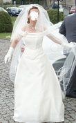 Robe de mariée Pronuptia modèle Eternelle, avec bustier et jupon