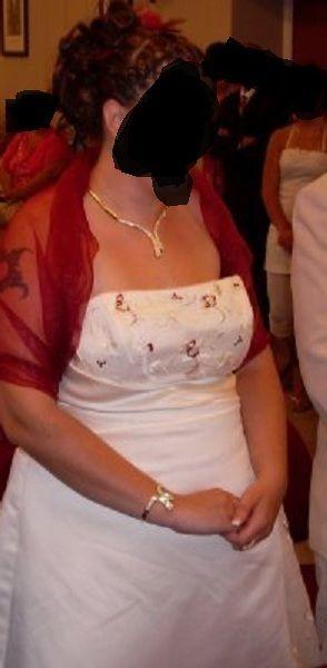 Magnifique robe de mariée pas cher T50/52 - Occasion du Mariage
