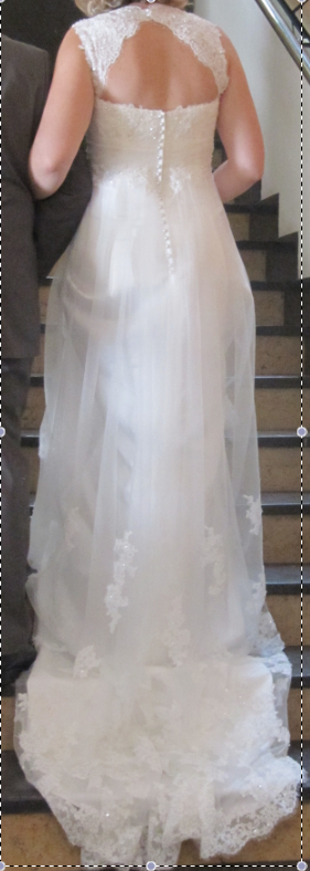 Robe de mariée Lady Pearl T40 collection 2012 d'occasion