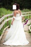Robe Pronovias taille adaptable 38 au 42 - Occasion du Mariage