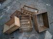 lot d\'ancienne caisse en bois - Occasion du Mariage