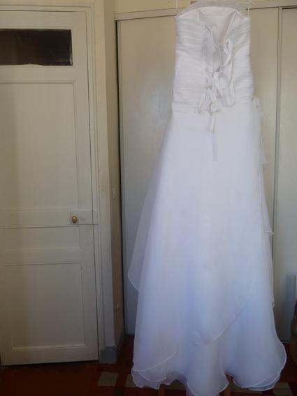Robe mariée d'occasion pas cher T38/40 - Occasion du Mariage