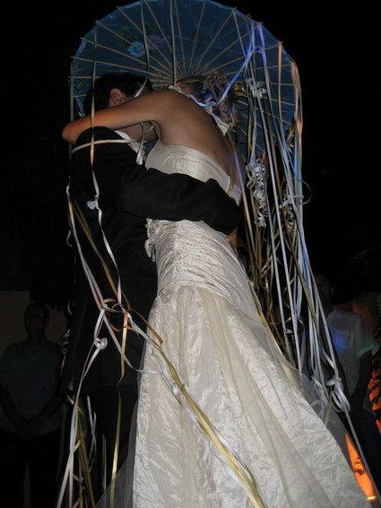 Magnifique robe de mariée Linea Raffaelli blanc cassée ivoire - Occasion du Mariage