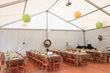 Nappes en polyester en décoration de table de mariage d'occasion en 2013