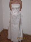 Robe de mariée pas cher bustier et jupe à Paris 2012 - Occasion du Mariage